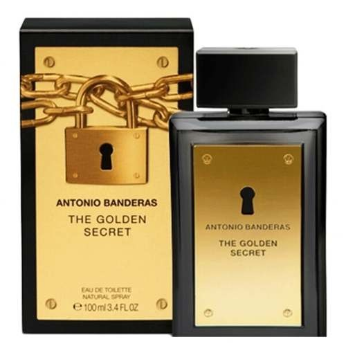 Antonio Banderas The Golden Secret Eau De Toilette Uraknak 50 ml