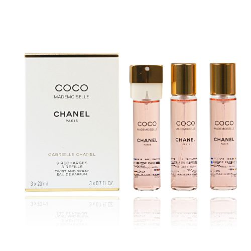 CHANEL Coco Mademoiselle (Refills) EDT 3x20ml