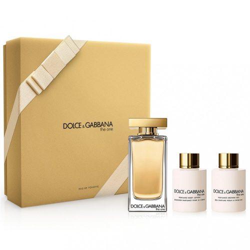 Dolce & Gabbana The One Eau De Toilette Szett Hölgyeknek