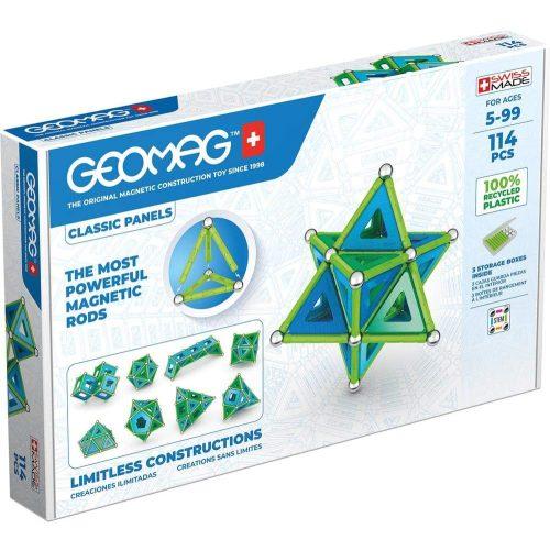 Geomag Green Line Classic Panel 114 db-os mágneses építőjáték - (20GMG00473)