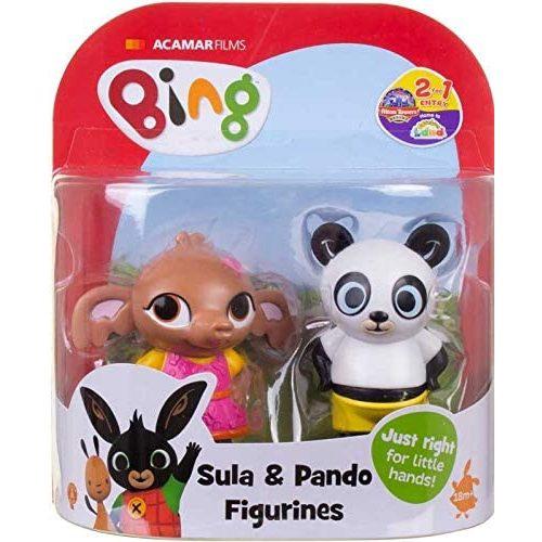 Golden Bear Bing és barátai Sula és Pando műanyag figura szett (BING3540)
