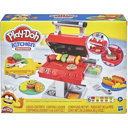 Hasbro Play-Doh Kitchen Creations grillsütő gyurma készlet (F0652)