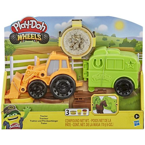 Hasbro Play-Doh Wheels traktor gyurmakészlet (F1012)