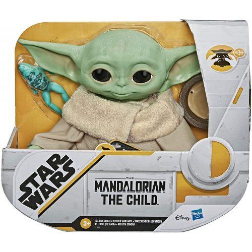 Hasbro Star Wars Mandalorian Baby Yoda beszélő plüss (F1115)