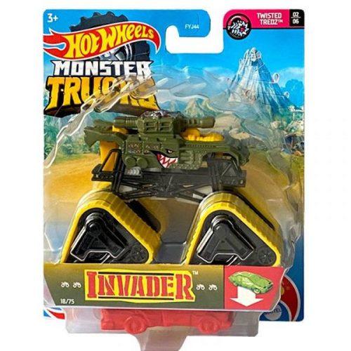 Mattel Hot Wheels Monster Truck autó (FYJ44) - Invader