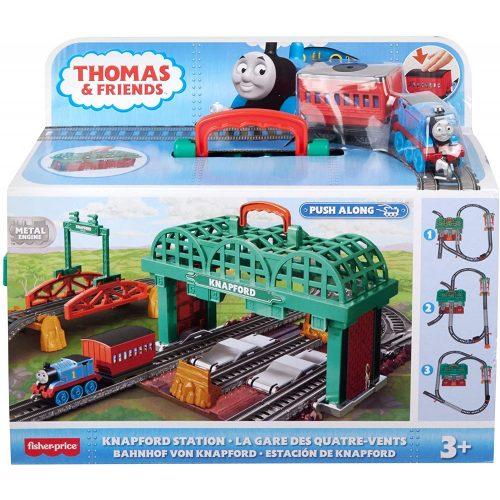 Thomas a gőzmozdony: Thomas Knapford állomás játékszett (GHK74)