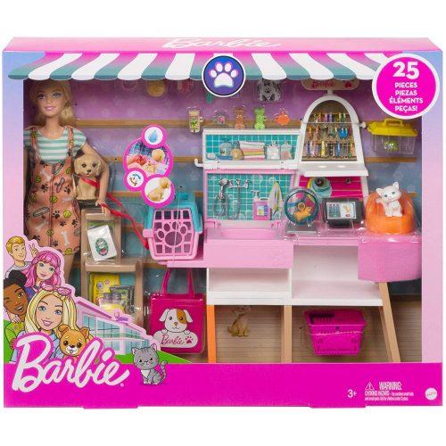 Mattel Barbie állatbolt