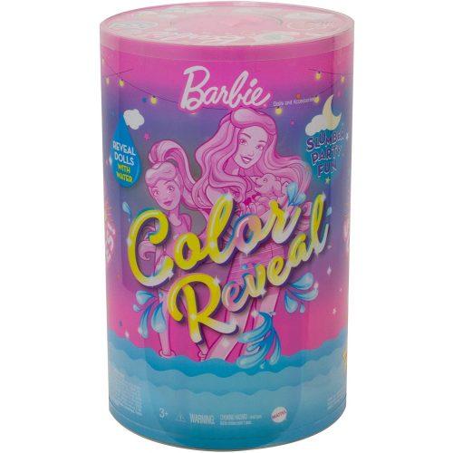 Barbie Color Reveal pizsiparti Barbie és Chelsea babával