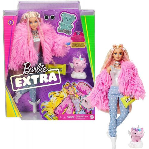 Mattel Barbie Extra baba kiskedvenccel (GRN27) Sweet