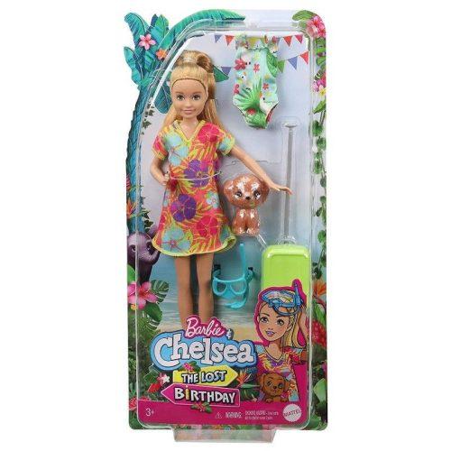 Mattel Barbie: Az elveszett szülinap - baba kutyakölyökkel (GRT86)