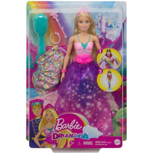 Mattel Barbie Dreamtopia átváltozó sellő (GTF91)