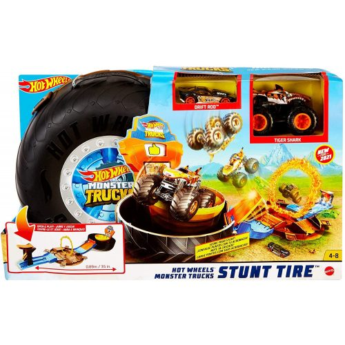 Mattel Hot Wheels Monster Trucks kaszkadőr kerék (GVK48)