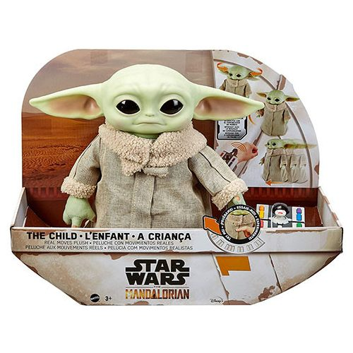 Mattel Star Wars interaktív Baby Yoda (GWD87)