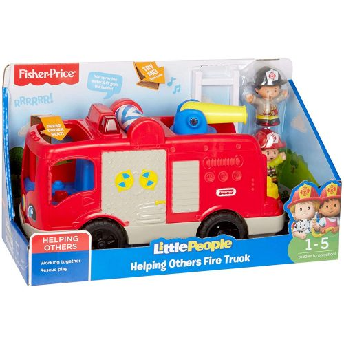 Fisher-Price Little People tűzoltóautó (GXR77)