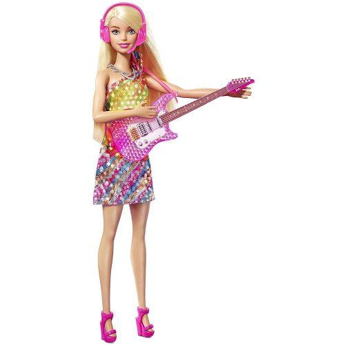 Mattel Barbie Big City Big Dreams Malibu karaoke baba (GYJ23)