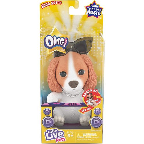 Little Live Pets OMG énekes kutya figura Spániel