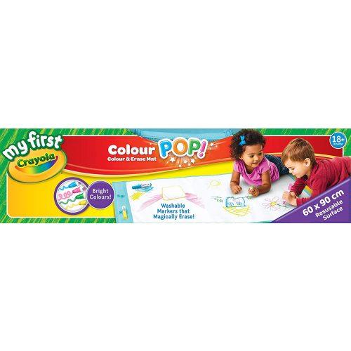 Crayola: Colour POP! irka-firka szőnyeg (81-2006)