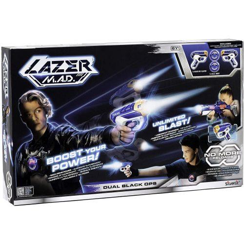 Silverlit Lazer M.A.D.: Dual Black Ops sugárvető készlet (86869)