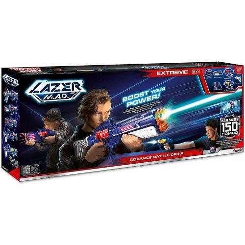 Lazer M.A.D.: Advanced Battle OPS sugárvető készlet (86872)