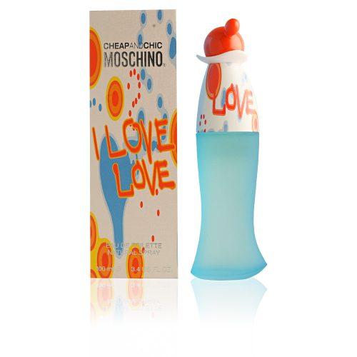 Moschino I Love Love Eau De Toilette Hölgyeknek 100 ml