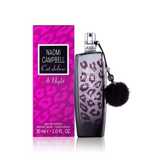 Naomi Campbell Cat Deluxe at Night Eau De Toilette Hölgyeknek 30 ml