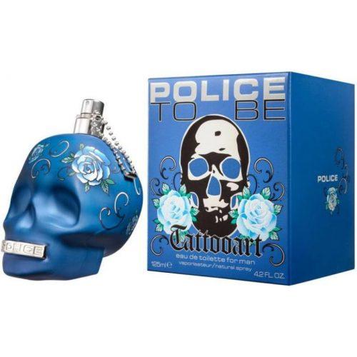 Police To Be Tattooart Man EDT 125ml Uraknak