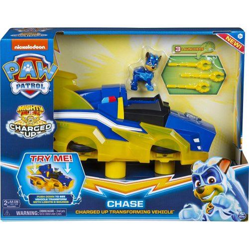 Spin Master Mancs őrjárat: Chase Charged Up átalakuló jármű