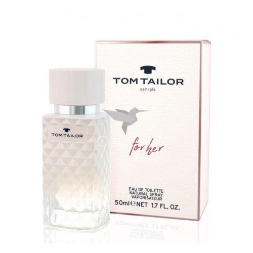 Tom Tailor For Her Eau De Toilette Hölgyeknek 30 ml